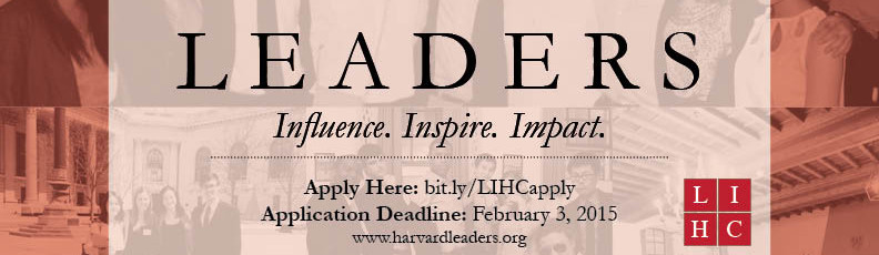 Apply to the Leadership Institute!