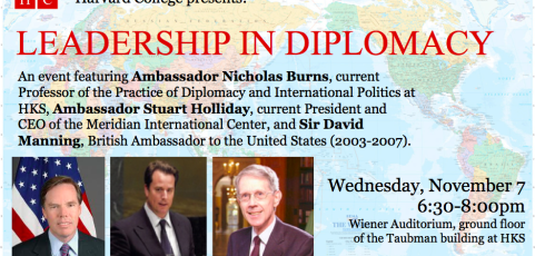 Leadership in Diplomacy: A Political Roundtable